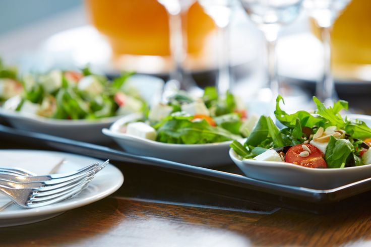 Afternoon Brainfood - Rocket salad with Feta cheese and nuts. It`s worth a try!