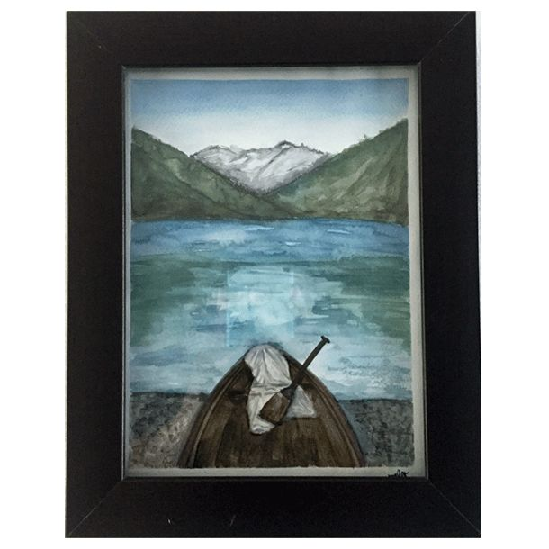 Montañas - Watercolor #Art3Mas