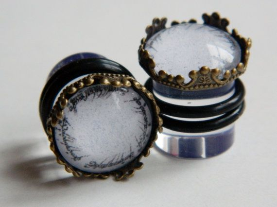 Lord of the Rings plugs CHOOSE YOUR SIZE 8mm door plugsandotherstuff, £10,00