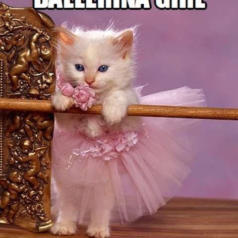 <p>Don't you ever go away, Ballerina Girl</p>