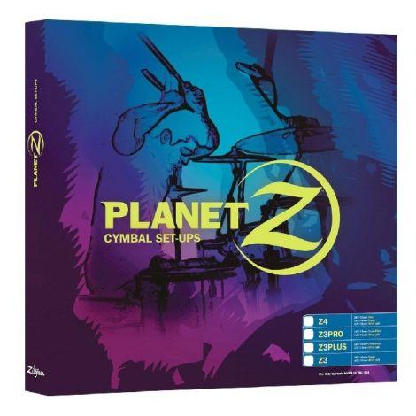 """Zildjian Cymbals, Planet Z Z3 /3 Cymbal Pre Pack (14"""" 18"""")"""
