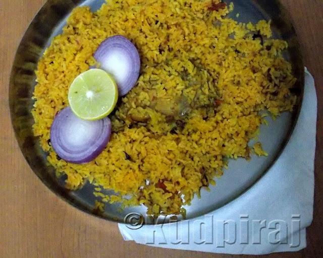 Mysore Style Chicken Biryani