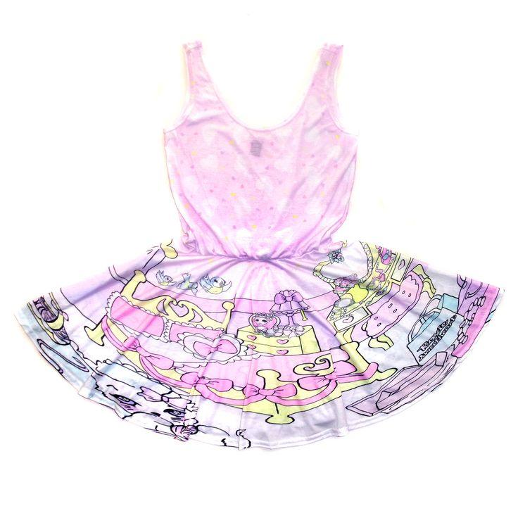 Dream Dollhouse Circle Dress  Roxie Sweetheart (48.00 GBP) by roxiesweetheart