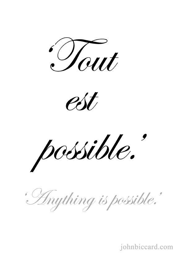 ♔ 'Anything is possible'                                                                                                                                                                                 Más