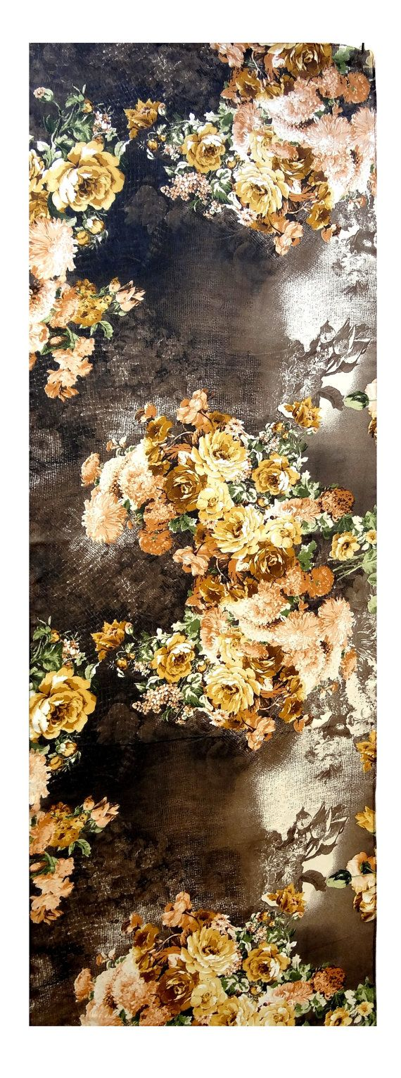 sciarpa di chiffon di seta 56 x 19 accessori di AnnushkaHomeDecor