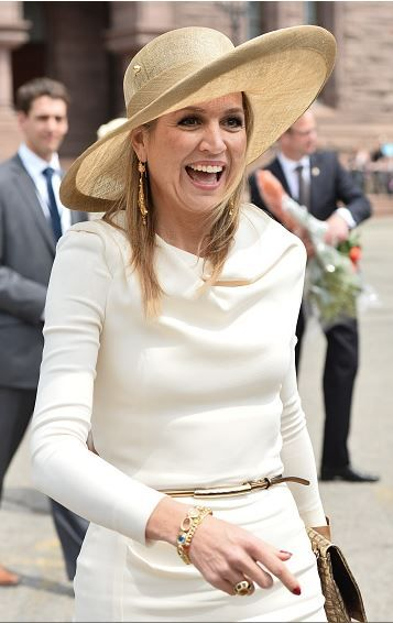 Queen Máxima, May 29, 2015 in Fabienne Delvigne | Royal Hats