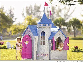 Disney Princess Castle Playhouse | Top 10 sizzling summer toys - Disney Princess Wonderland Castle from ...