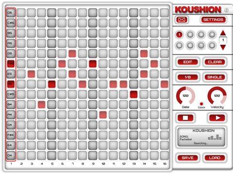 Koushion MIDI Step Sequencer By Kudzu Creative Group