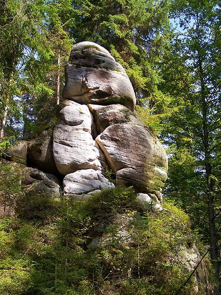 Adrspach-Teplice Rocks, Czech Republic
