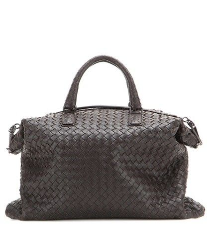 THE CONVERTIBLE INTRECCIATO LEATHER TOTE BOTTEGA VENETA