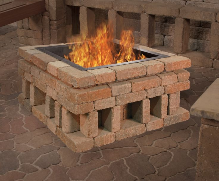 Garden Fire Pit Ideas Simple