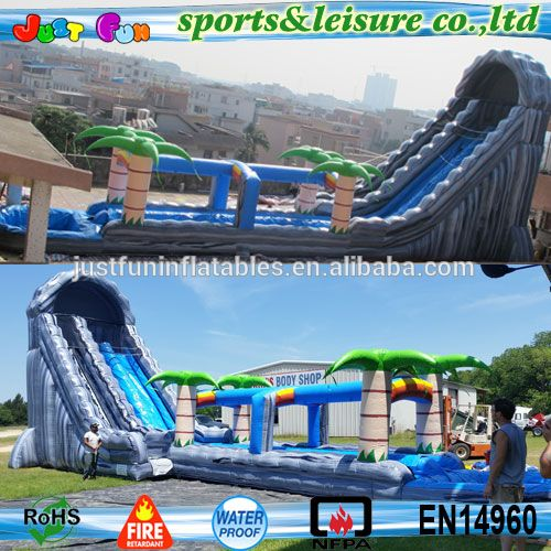 Inflatable Giant Slide: Best 25+ Inflatable Water Slides Ideas On Pinterest