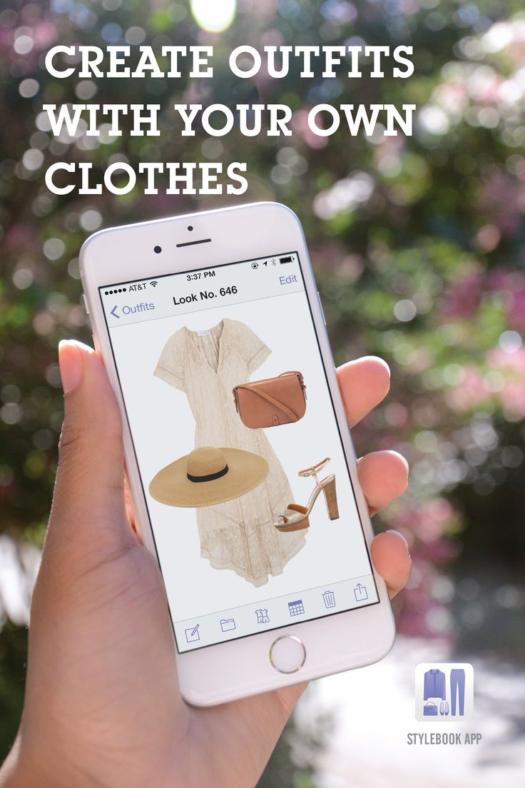 Stylebook, a closet manager for the iPhone. Take pictures of your own clothes and build outfits!