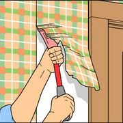 How to Get Painted Wallpaper off of the Wall   eHow