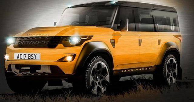 New Land Rover Defender renderings