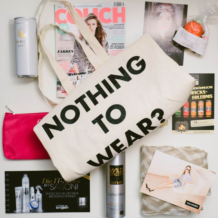 Goodie Bag! Hallhuber, Videdressing, Crazypopcorn, L'Oréal Professionnel, 28 BLACK, Lavera Natural Skincare, PinkBox.de, COUCH, Senzera - professional waxing & STYLIGHT! #munich #party #stylight #p1club