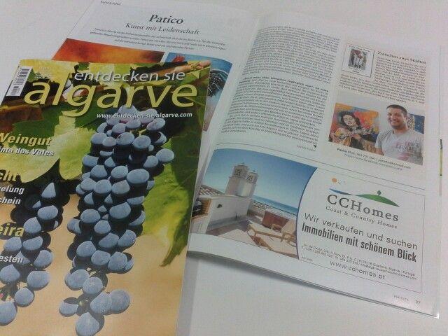 Ad in the ESA magazine
