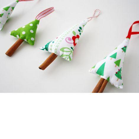 Weihnachten... Baumhänger-Tannenbäume
