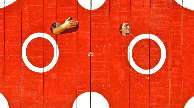 Puerta de cuadrillas