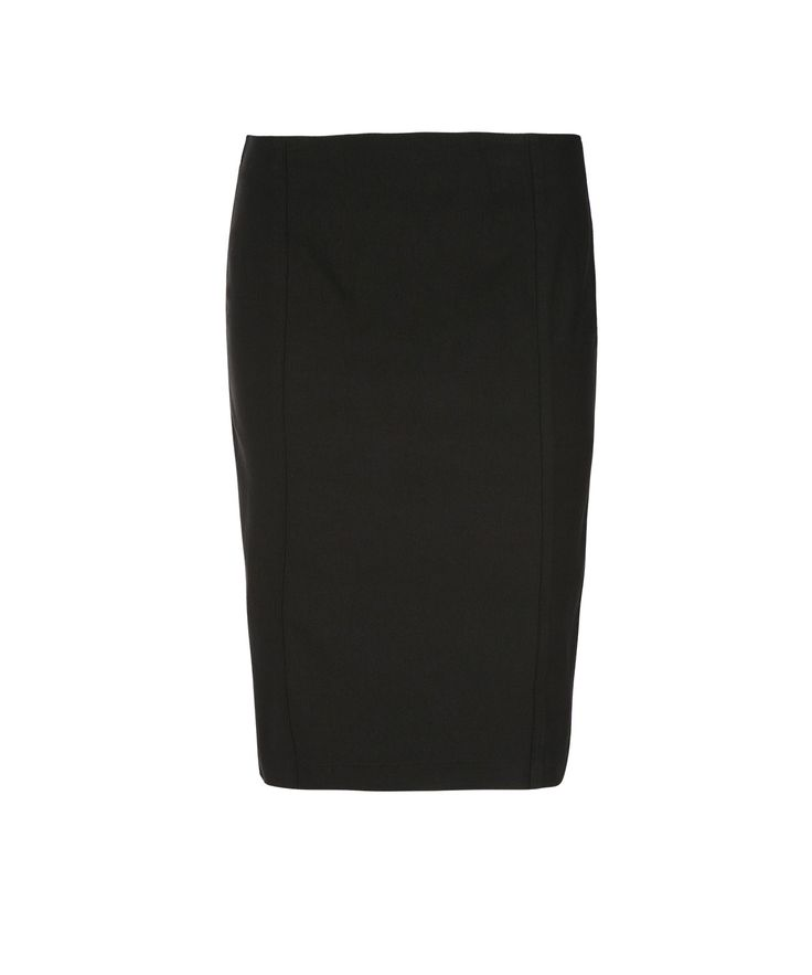 Pull On Pencil SkirtPull On Pencil Skirt, Black