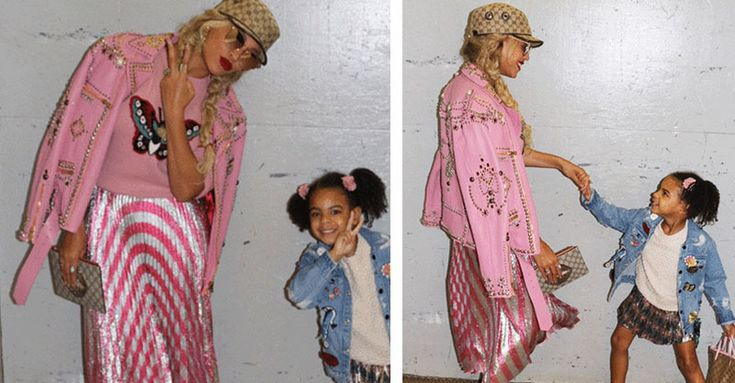 Beyonce has a whole host of ways to keep daughter Blue Ivy feeling secure while she's in the limelight. This secret handshake is our favourite.