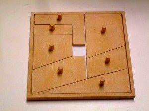 puzzle casse tete en bois