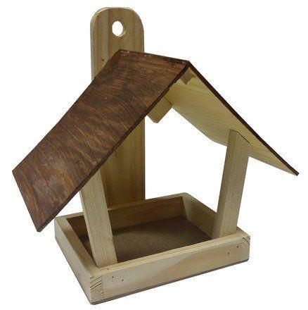 Certech Karmnik dla ptaków drewniany F - zdjęcie 1