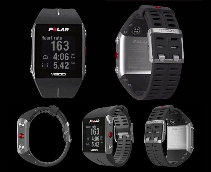 Polar V800 GPS Running watches inkl. Heart Rate Monitor in Original box 90047437