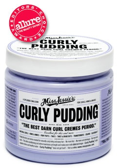 Miss Jessie's Curly Pudding. Fantastic grooming product for natural, curly hair.