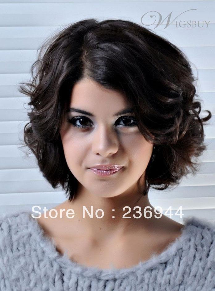 Стрижки для волнистых волос средней длины фото