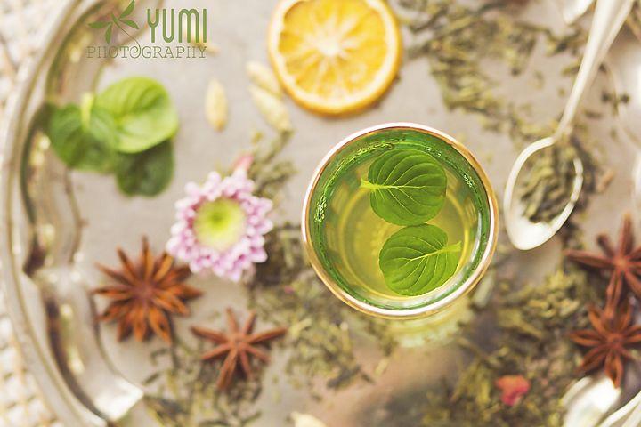 Moroccan mint green tea - Yumi Photography ♥ www.facebook.com/yumiphotoart ♥
