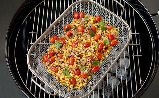 Epicure's Big Batch Grilled Corn Salsa
