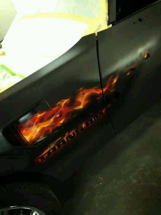 True Fire Airbrush Art Airbrush Designs Car Painting