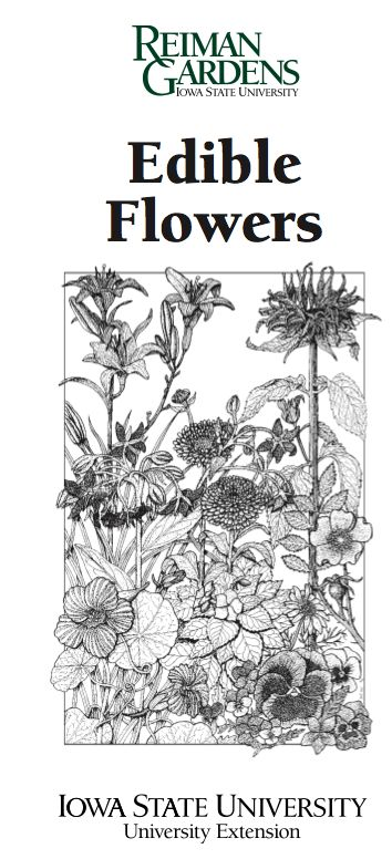 Edible Flowers Informational PDF from Iowa State University