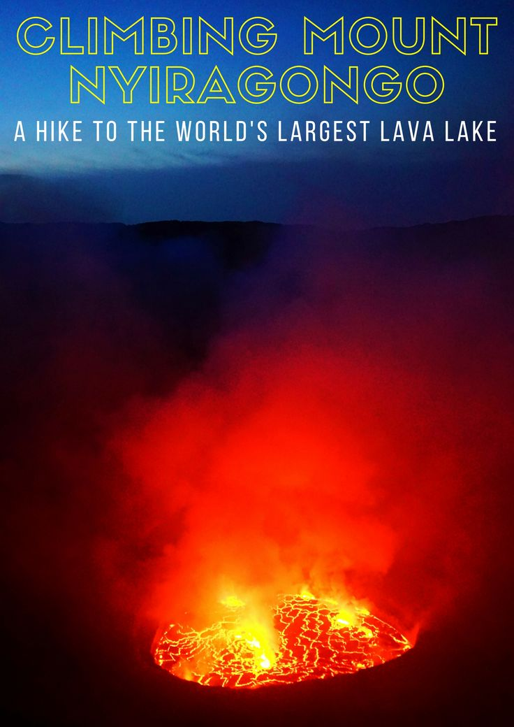 Mount Nyiragongo, in the Democratic Republic of the Congo, is home to the world's largest lava lake, and it's spectacular!