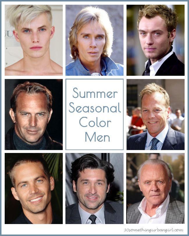 Summer seasonal color men