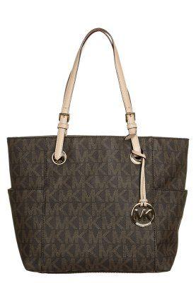 JET SET - Shopping bag - brown