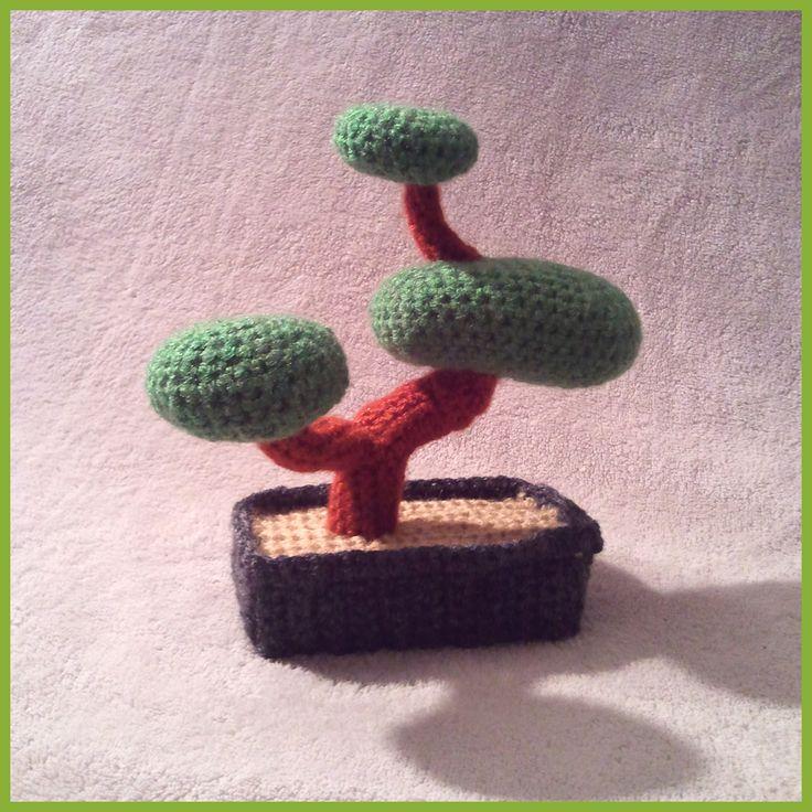 croxet: amigurumi bonsai