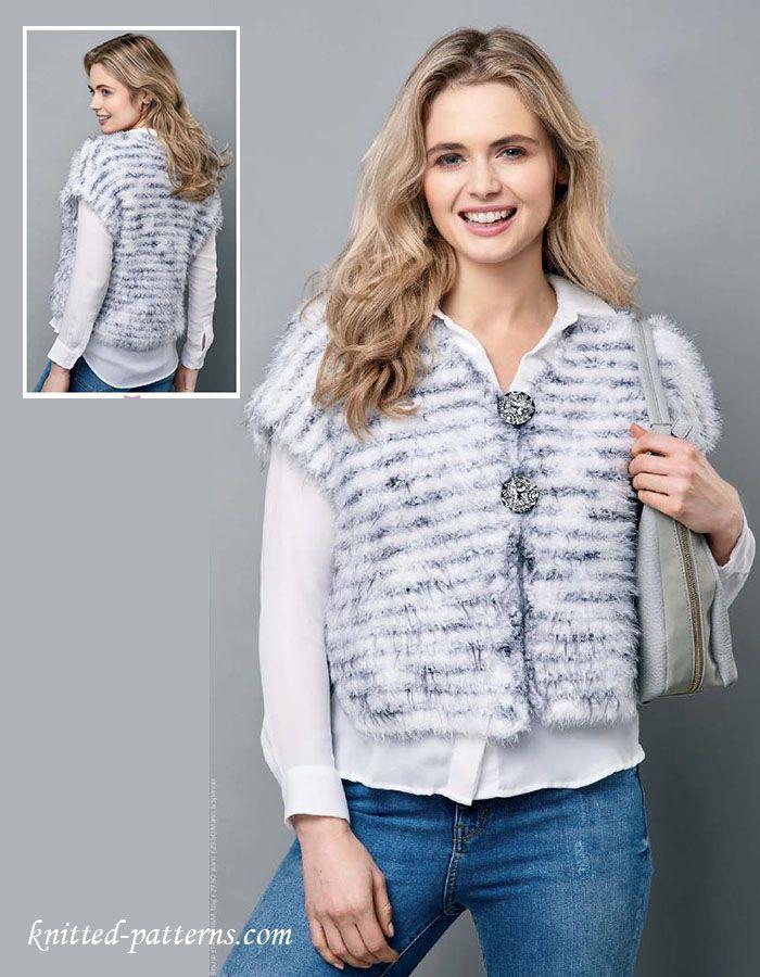 1000+ ideas about Knit Vest Pattern on Pinterest Vest ...