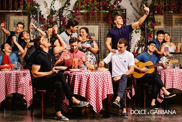 Dolce and Gabana SS16 Starring Alessio Pozzi, Aurelien Muller and Cristi Isofii