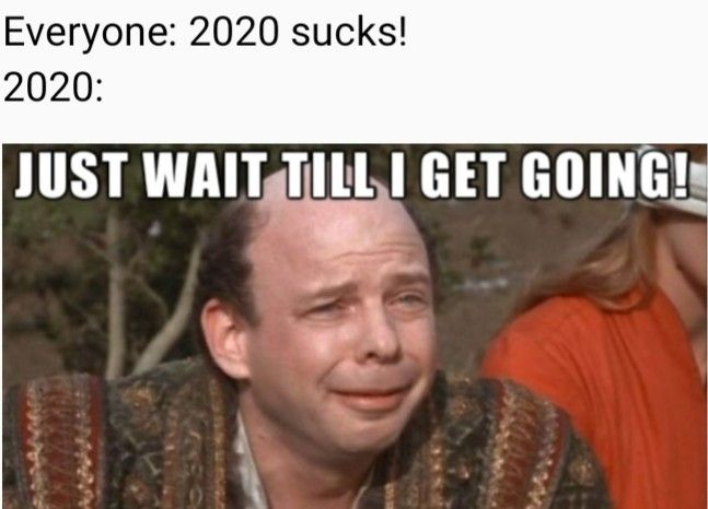 2020 Is The Worst But The Memes Are Great Funny Quotes Princess Bride Quotes Funny