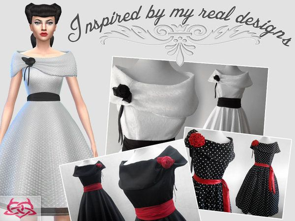 Inspired by my real creations   vintage collection Found in TSR Category  Sims  4 Female Everyday. 80 best Sims 4 Rockabilly images on Pinterest   Rockabilly  Sims 4
