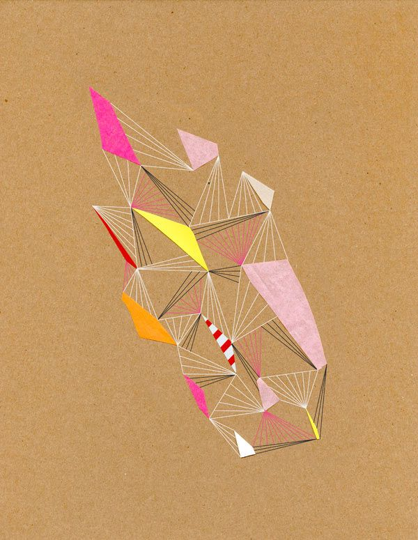 Chad Wys - Constellations Geometric Collages