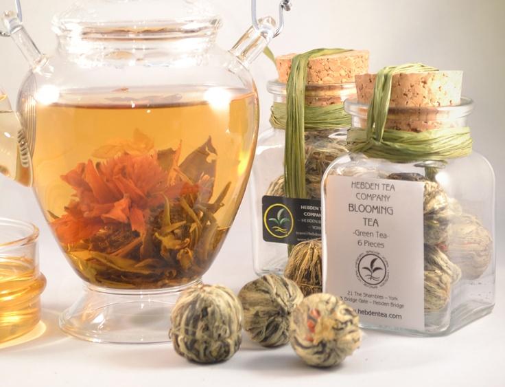 Blooming Tea in Glass Jar