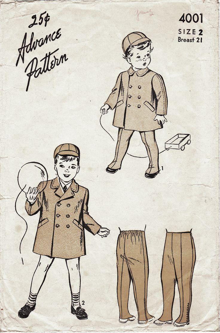 1940's Boy's Coat & Pants