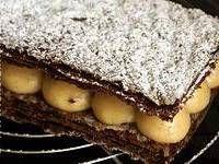 Millefeuille chocolat