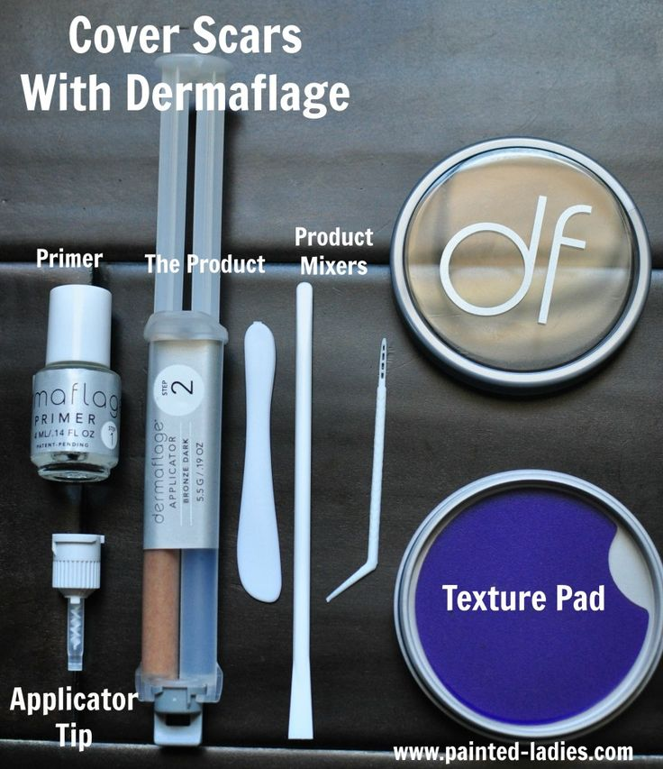 Dermaflage is a 3 part system that