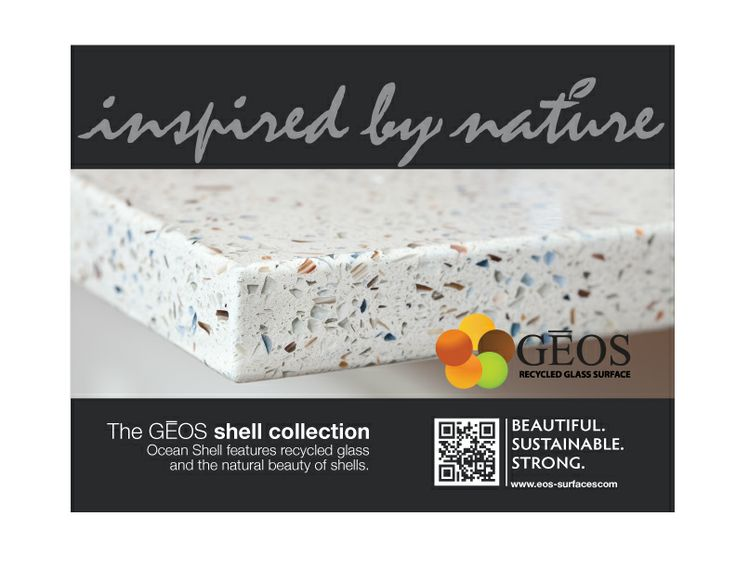 The Geos Recycled Glass Surfaces Shell Collection Features Recycled Glass A  Beautiful, Natural Shells.