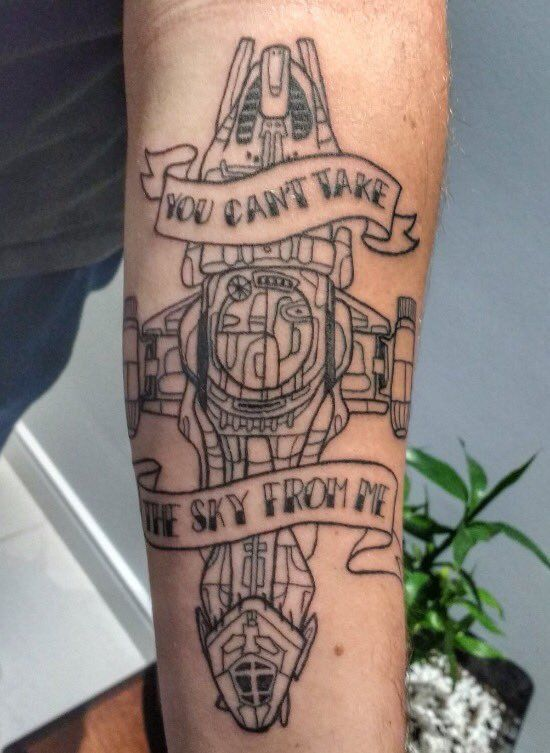 """You can't take the sky from me"" Firefly/ Serenity tattoo"