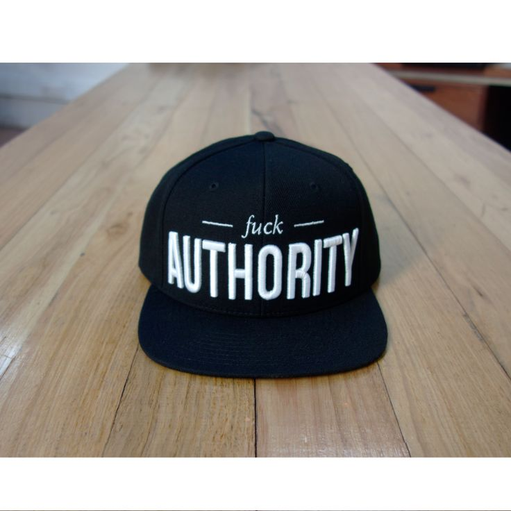 Newest edition to our snapback range.   authorityclothing.com.au